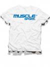 obrázek MUSCLESPORT® Tričko bílé