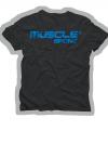 obrázek MUSCLESPORT® Tričko černé